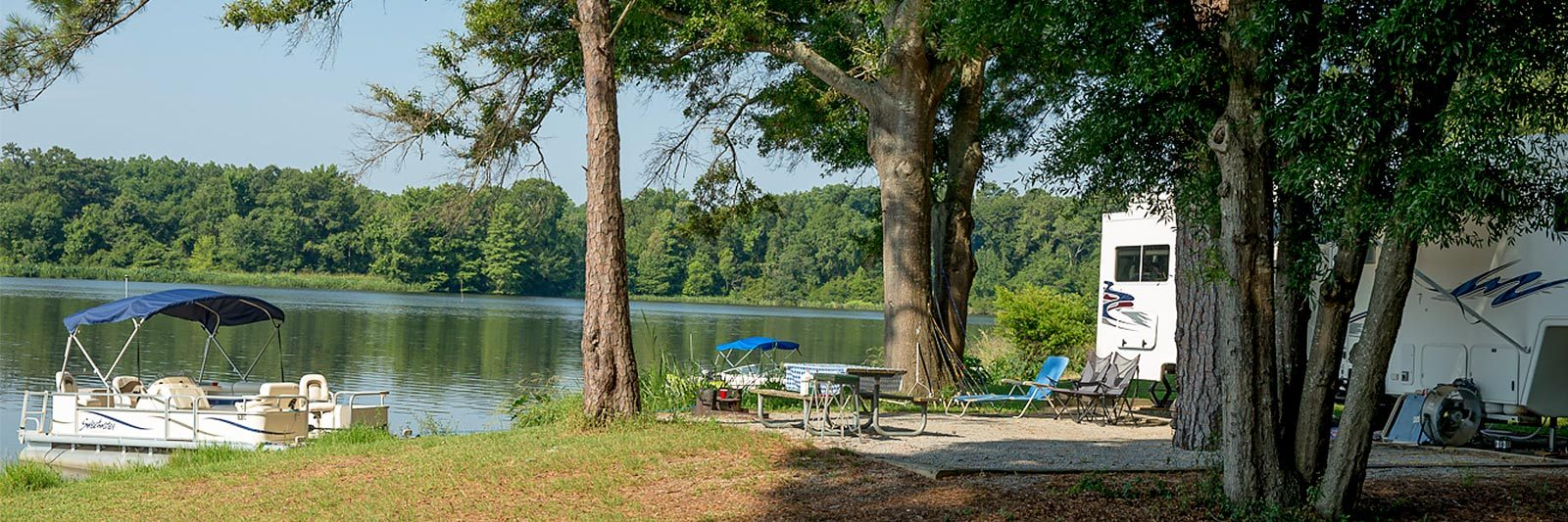 Lake Blackshear GA Veterans Camping