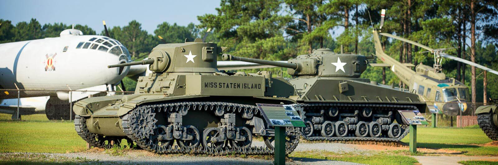 Lake Blackshear GA Veterans Military Museum