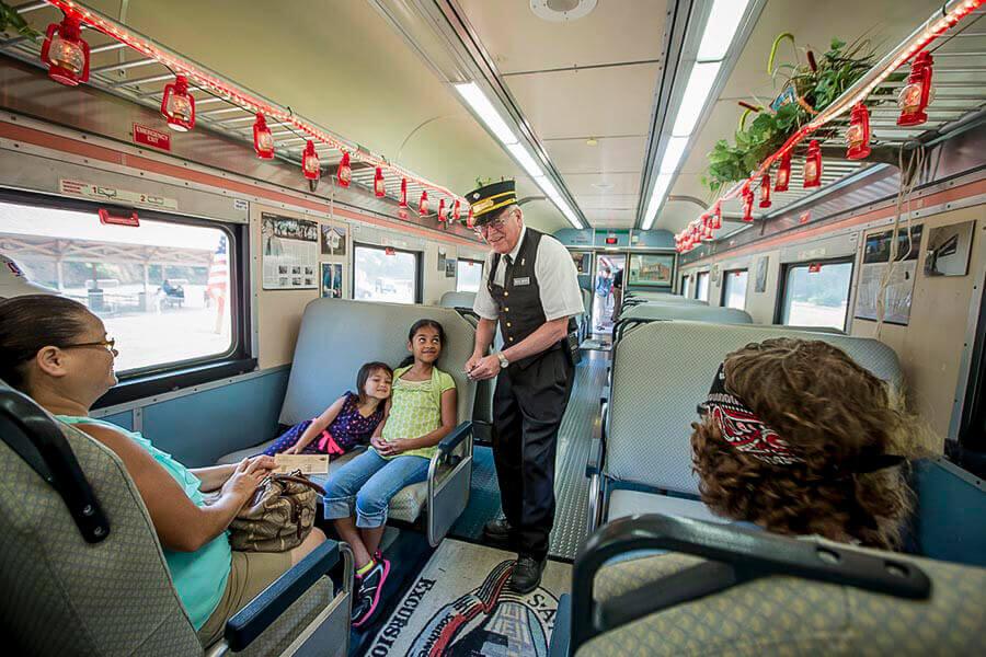 Lake Blackshear GA Veterans Park SAM Shortline Train Slider 31