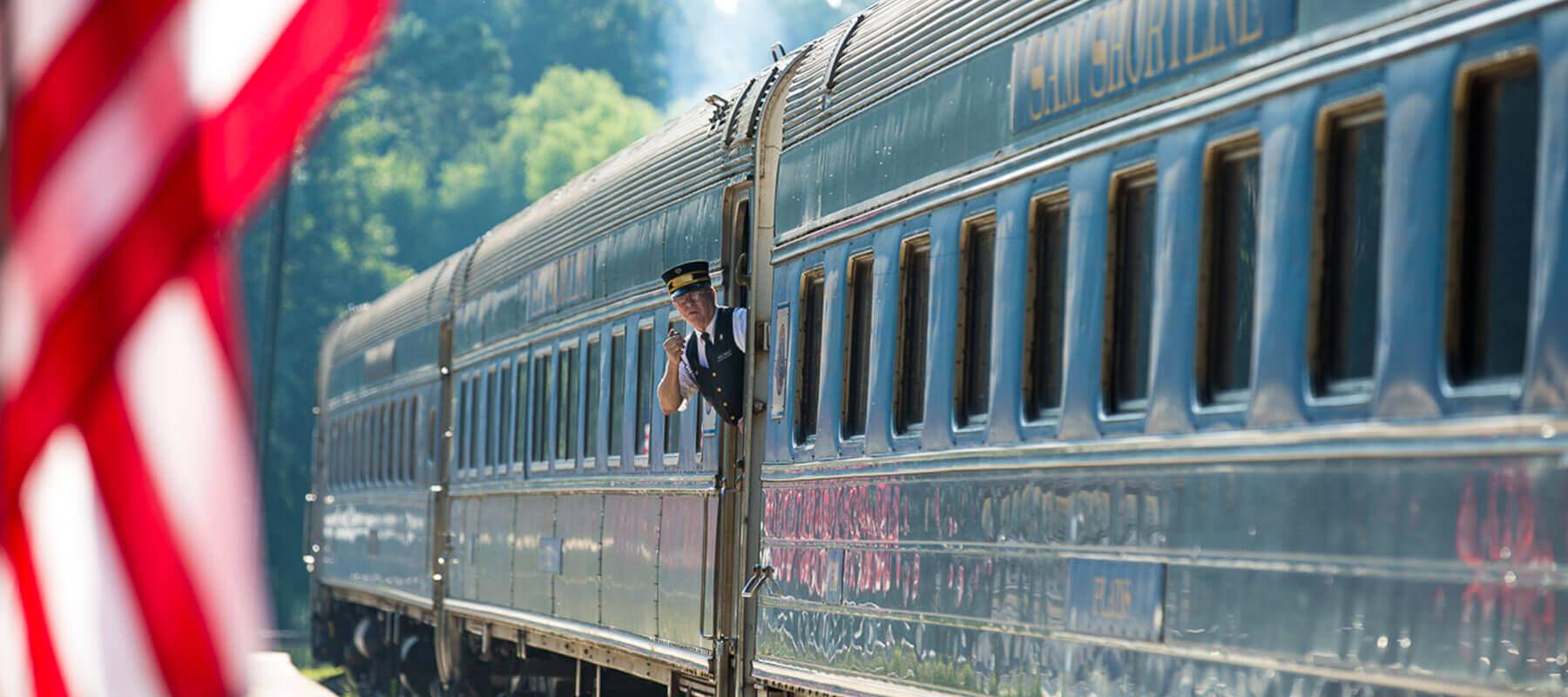 Lake Blackshear GA Veterans Park SAM Shortline Train Slider 5