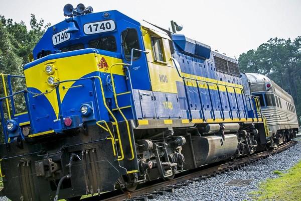 Lake Blackshear GA Veterans Park SAM Shortline Train Slider 61