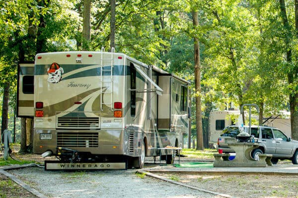 Lake Blackshear GA Veterans State Park Camping1
