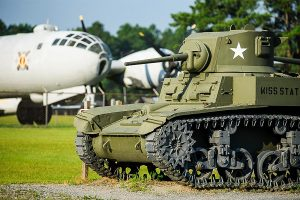 Lake Blackshear GA Veterans State Park Military Museum