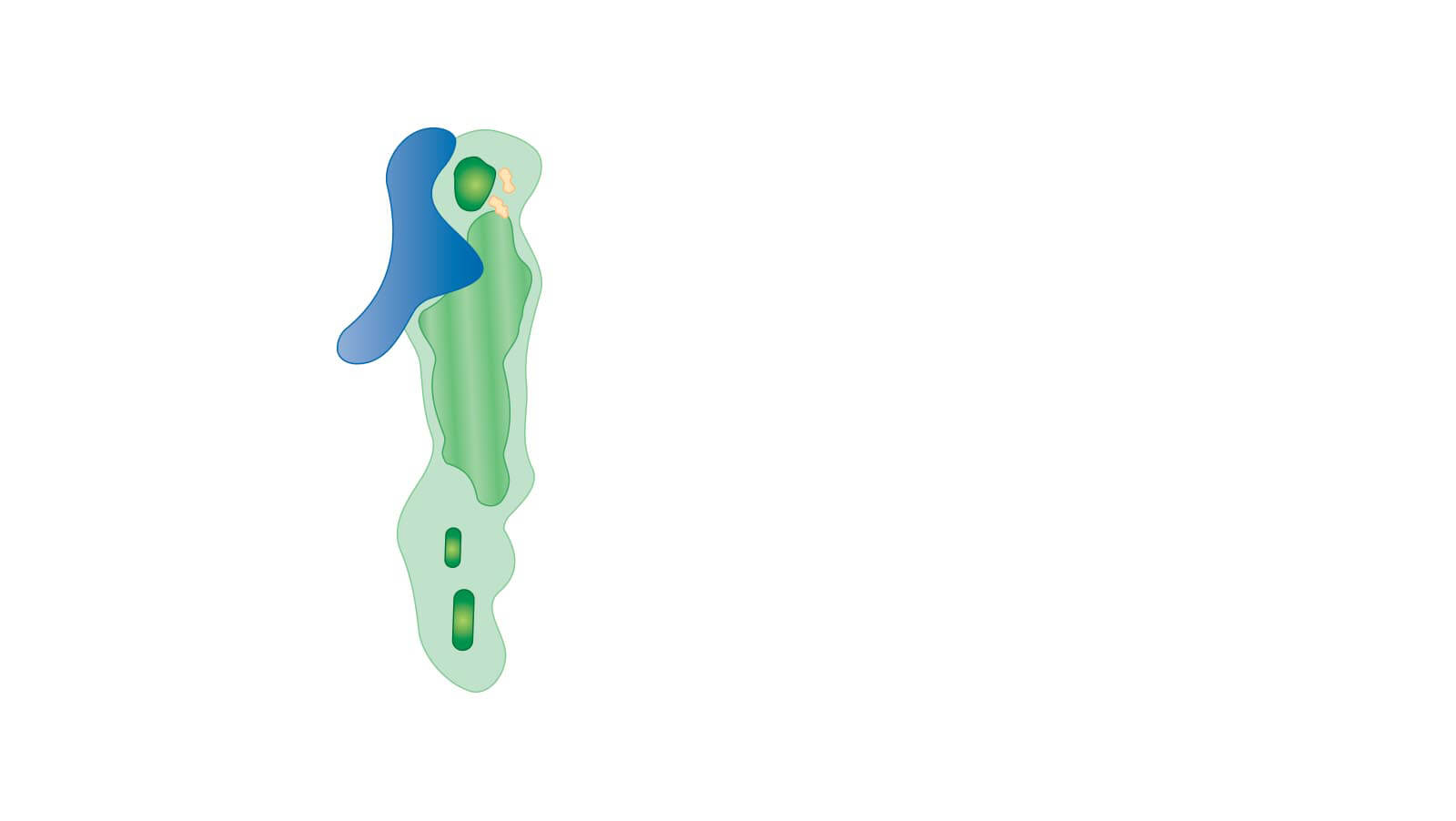 Lake Blackshear Golf Course Layout Hole3