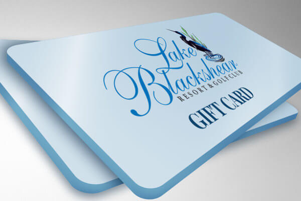 Lake Blackshear Menu Gift Card CP