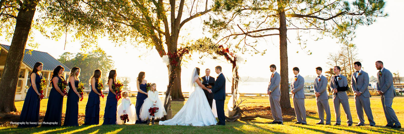 Lake merwin wedding