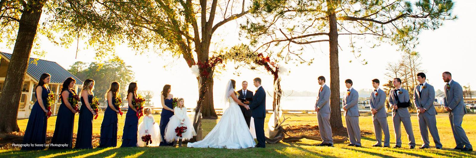 Lake Blackshear Weddings Wedding Gallery 1