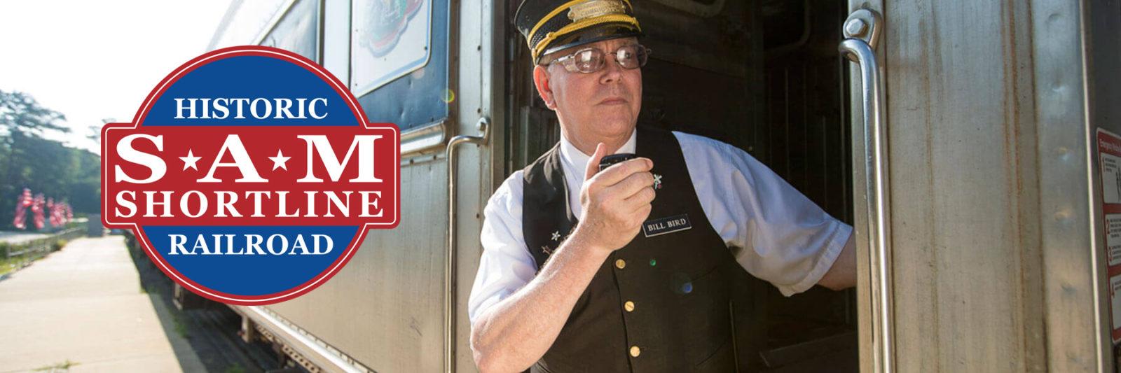 Lake Blackshear GA Veterans Park SAM Shortline Train Slider