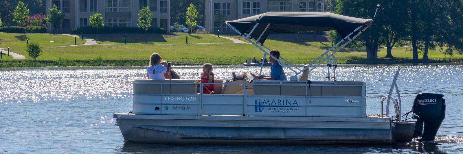 Lake Blackshear Header FamilyBoatingVillas