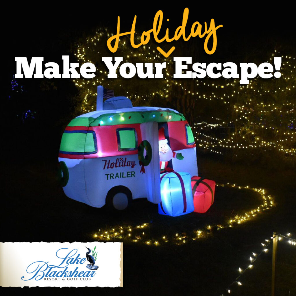 Lake Blackshear Resort Make Your Holiday Escape