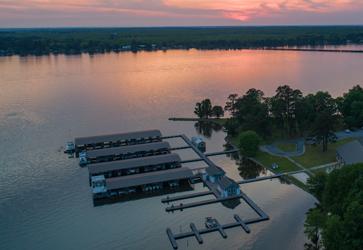 Marina at Lake Blackshear Resort x